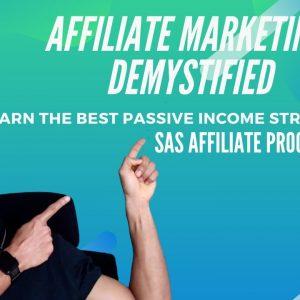 SAS Affiliate Program by Barry Plaskow ~ Best Passive Income Strategy Ever