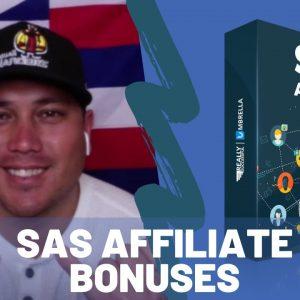 SAS Affiliate & GroovePages Bonus