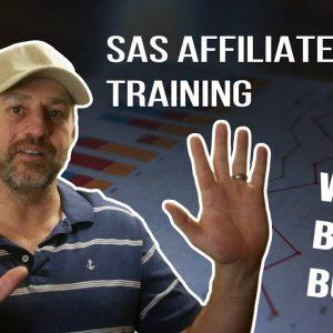 SAS Affiliate Honest Review - Is it a scam?