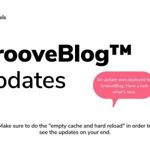 GrooveBlog Update 15th of April 2021