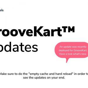 GrooveKart updates April 2021