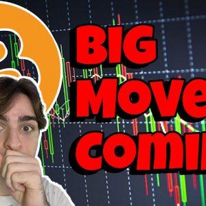 ⛔BITCOIN UPDATE⛔ BIG MOVE COMING (Analysis)
