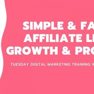 Simple & fast affiliate list growth & profits!