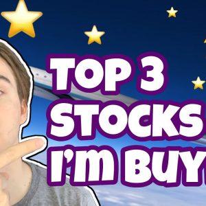 Top 3 STOCKS I'm Buying! | September 2020