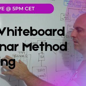 The Whiteboard Webinar Method training Thursday LIVE @ 5pm CET