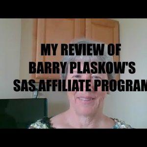 Barry Plaskow's SAS Affiliate Program review