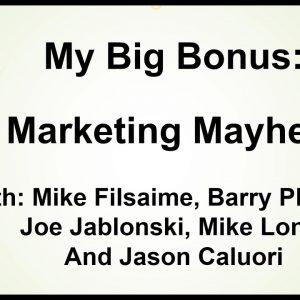 My Big Bonus for SAS Affiliate
