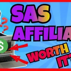 SAS Affiliate Review - Should You Get This Program?