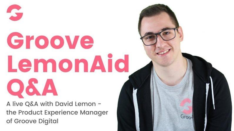 Groove LemonAid #28- A Q&A session with David Lemon