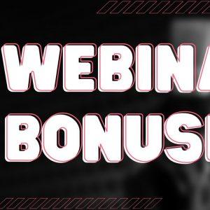 Groove Live Webinars: New Bonus Offer For Webinar Attendee Upgrades