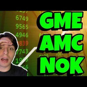 STOCK MARKET MAYHEM! (GME, AMC, NOK)