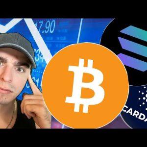 Did Crypto Just BULL TRAP Us All? (BTC,SOL,ADA)