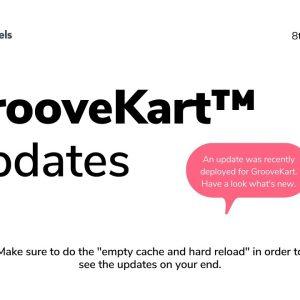 GrooveKart Updates September / October 2021